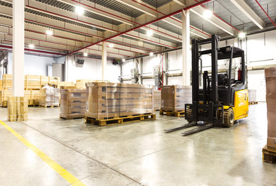 Contract-Factory-Warehouse logistics